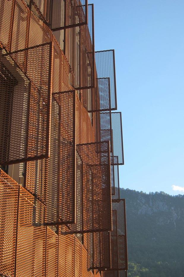25 stunning architectural facades administrative center Jesenice Studio Kalamar