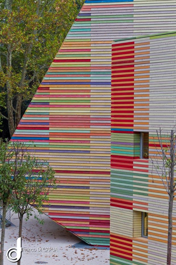 25 stunning architectural facades Auditorium l Aquila Renzo Piano