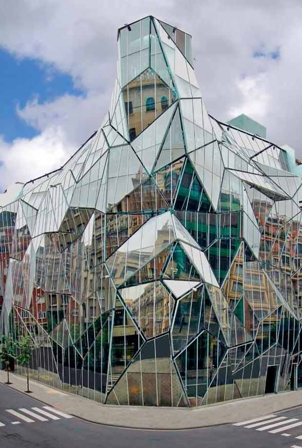 25 stunning architectural facades Basque Health Department HQ Coll Barreu Arq