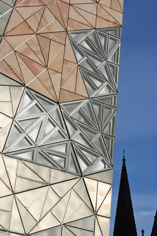 25 stunning architectural facades Federation Square Melbourne