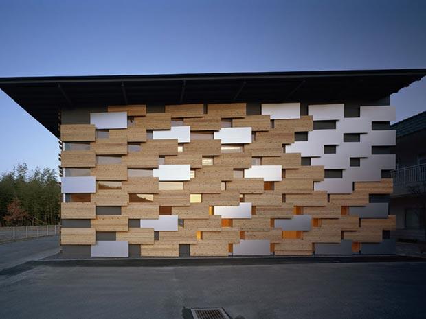 25 stunning architectural facades Hoshinosato Annex KKaa
