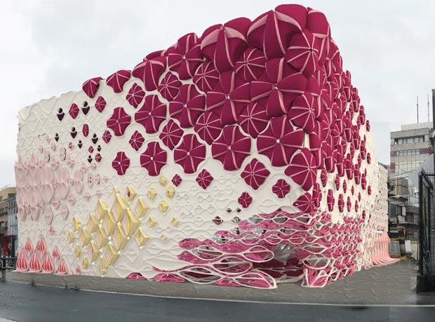 25 stunning architectural facades Japanese nightclub Candyland
