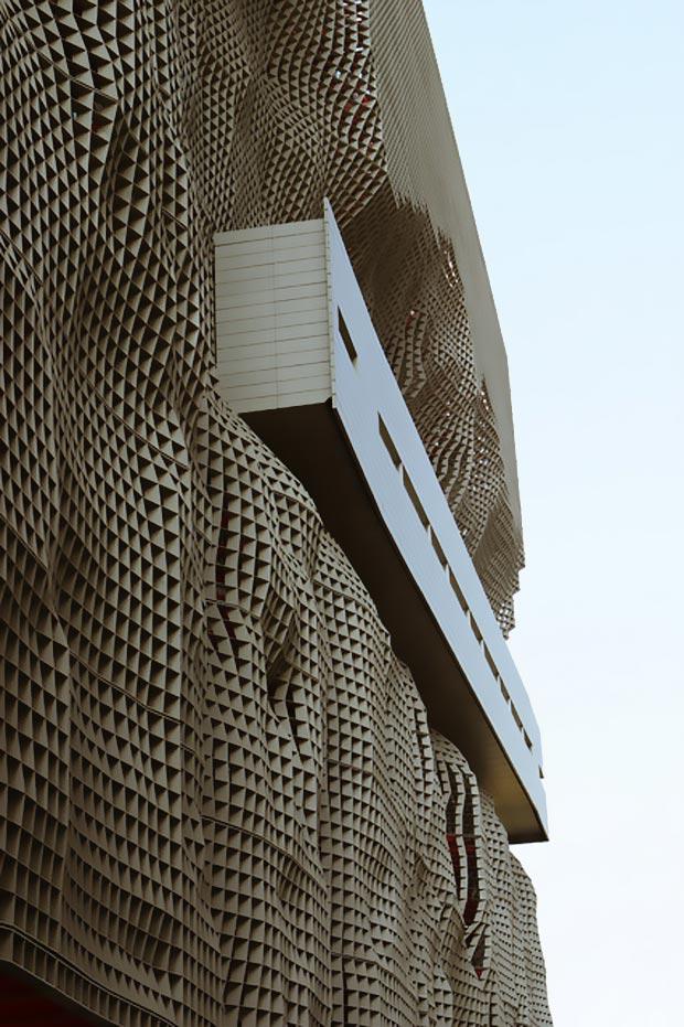 25 stunning architectural facades JingYa Ocean Center Raimund Abraham