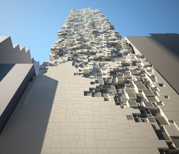 25 stunning architectural facades Sheung Wan hotel Heatherwick Studio