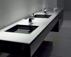 Geometrical Bathroom Design By Alape