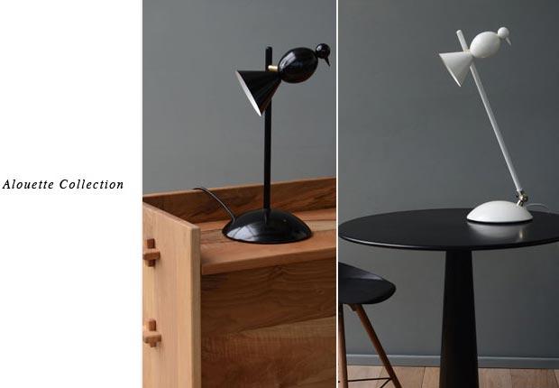 Alouette desk lamp Atelier Areti