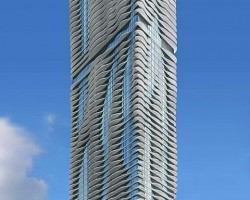 The Aqua Tower By Studio Gang Architects, Chicago