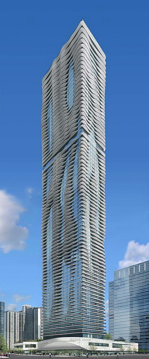 Aqua tower Studio Gang Architects Chicago 2