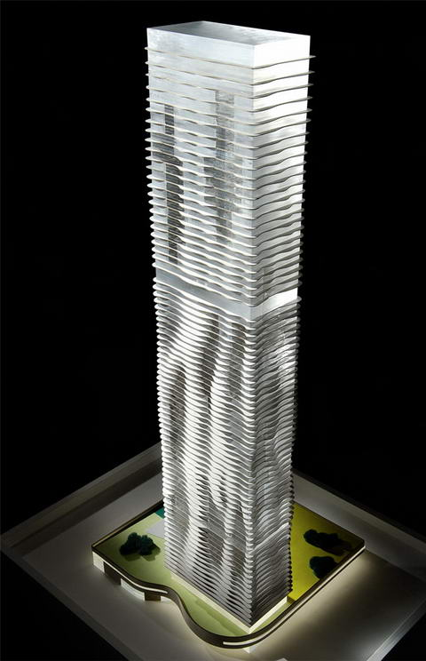Aqua tower Studio Gang Architects Chicago 5