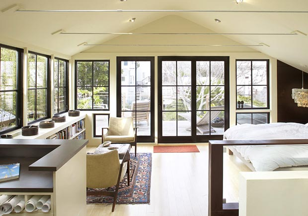 attic expansion Henry House by Feldman Architecture