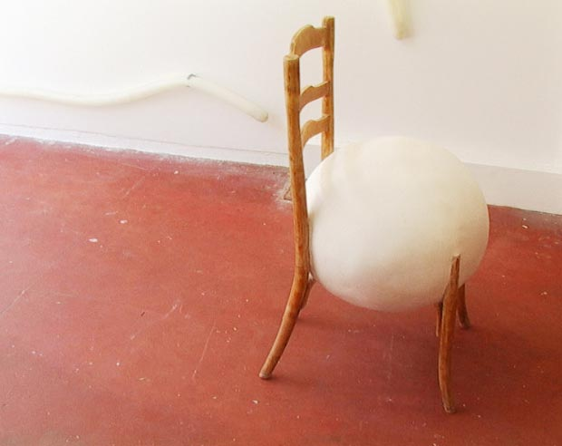Ball chair by Hannes Van Severen