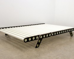 Nicola From Bern Delta – Bed With Tubular Grid