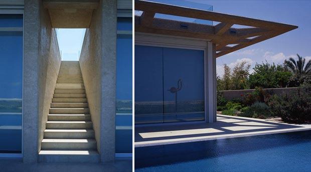 Caesarea Villa by Gottesman Szmelcman Architecture details