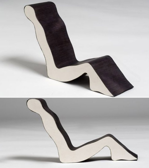 Chairs by Erik Griffioen human shape