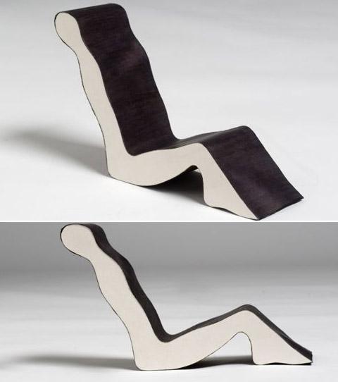 Chairs by Erik Griffioen human shape