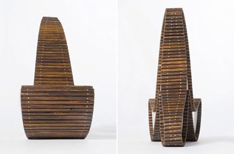 Chairs by Erik Griffioen wood details