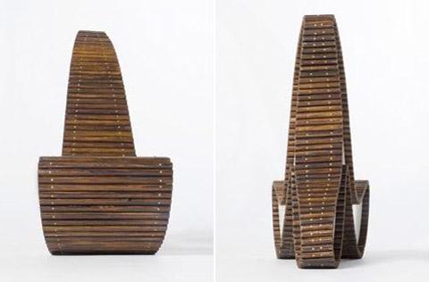 Chairs by Erik Griffioen wood details