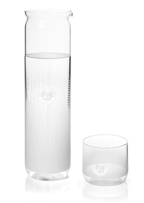 Cinq cinq designers Rolland Garros Carafe glass