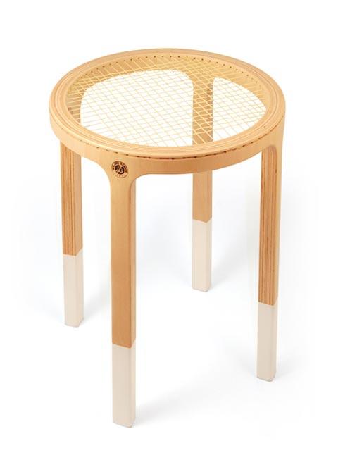 Cinq Cinq designers Rolland Garros stool