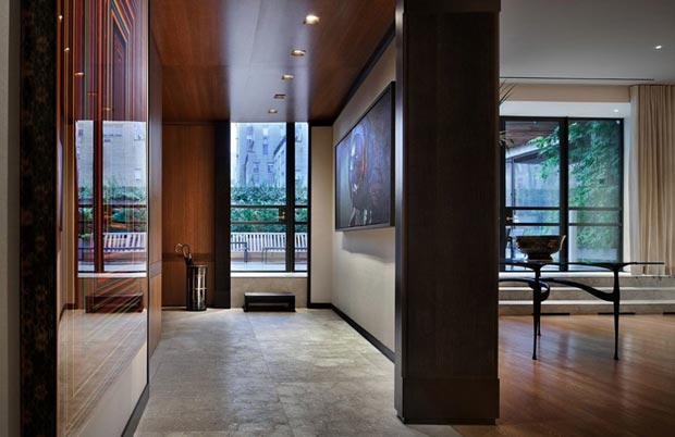 city apartment decorated by Thad Hayes