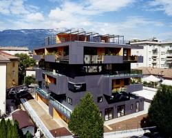 Urban Villa Domus Malles By Metrogramma, Bolzano Italy