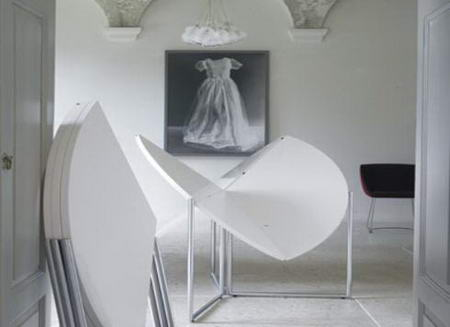 Folding Table by Nils Frederking