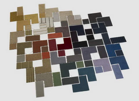Fragments Rug By Erik Abelin.