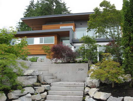 Geddes Residence West Vancouver by Nigel Parish Splyce