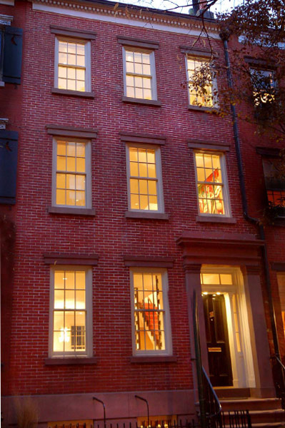 Greenwich village greek revival townhouse 1
