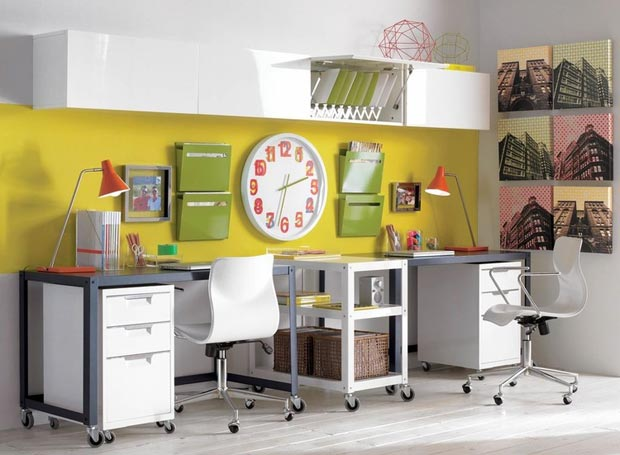 home office decoration ideas EVRT Studio