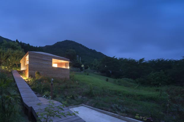 ideas small wood house by ACAA