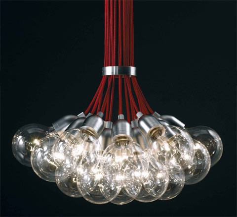 Idle Max pendant lamp David Abad detail