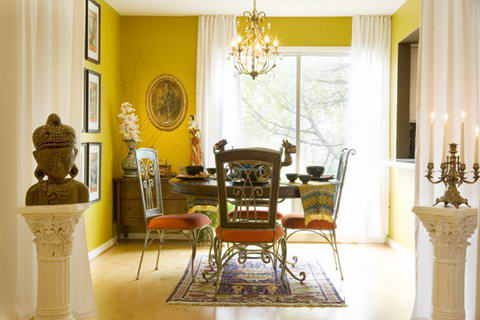 Interior Ideas Colored walls yellow