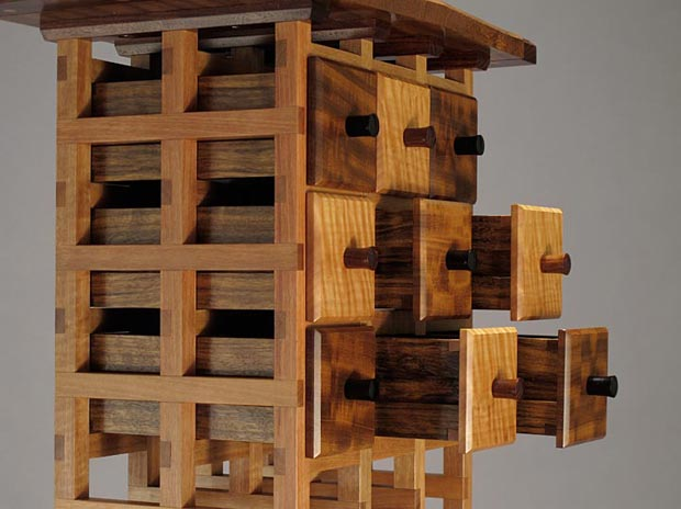 Jewelry chest concept drawers Danny Kamerath