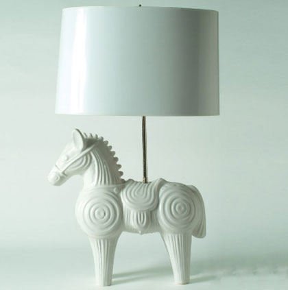 Jonathan Adler S Animals Ceramic Lamps Decojournal