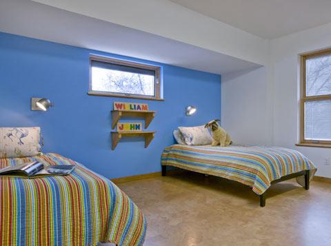 Lorden residence Vast Architecture boys bedroom