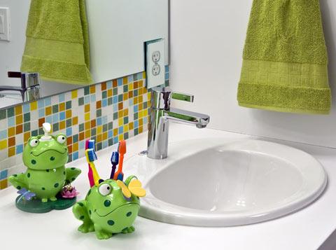 Lorden residence Vast Architecture children bathroom