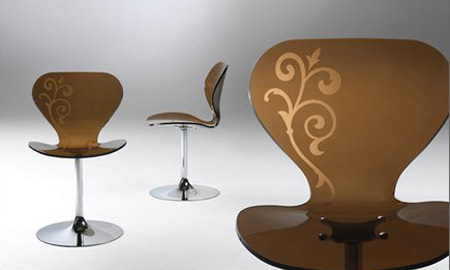 Mademoiselle Chair by Stefano Bigi