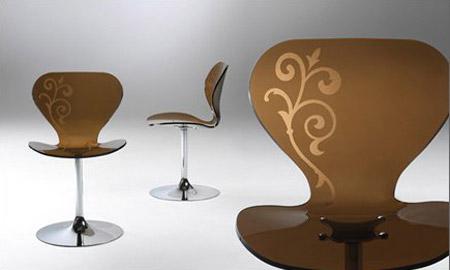 Mademoiselle Chair by Stefano Bigi