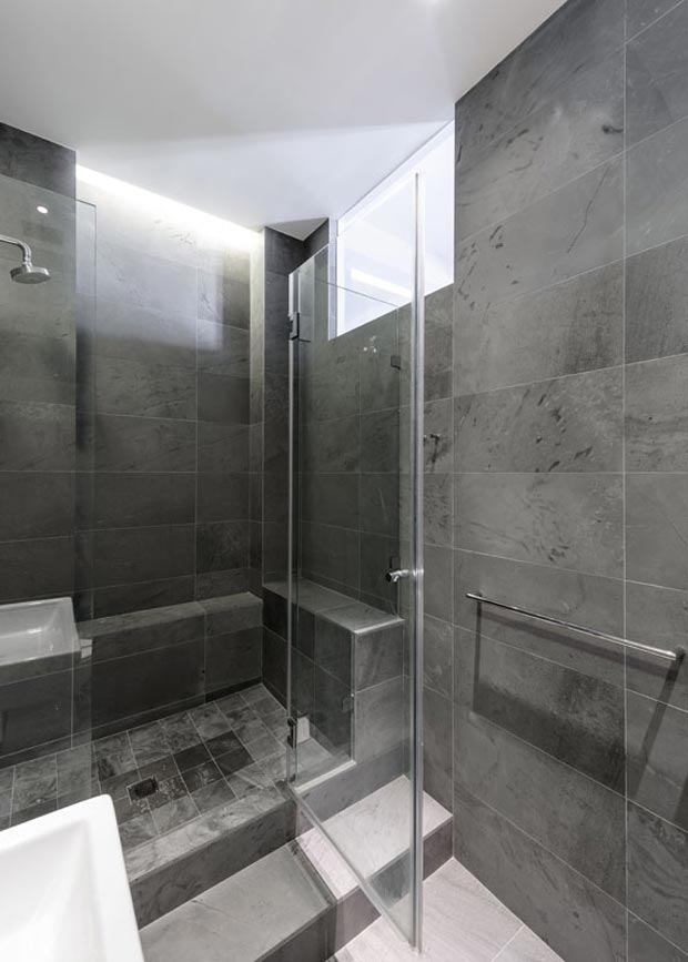 master bathroom NY Apartment Jane Kim Design