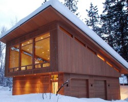 Residence In Mazama, Washington By Finne Architects