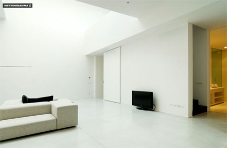 Metrogamma Superspazio private house Milan Italy 1