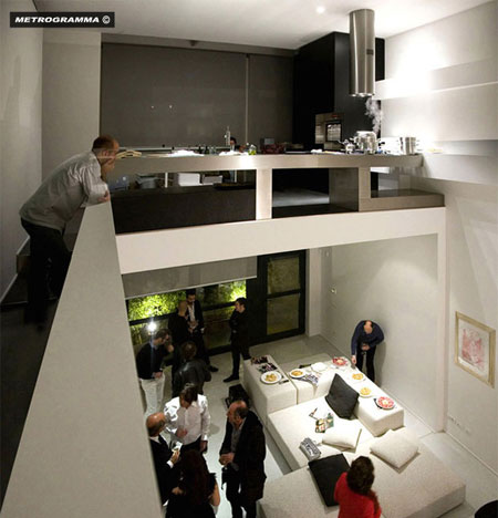 Metrogamma Superspazio private house Milan Italy 4