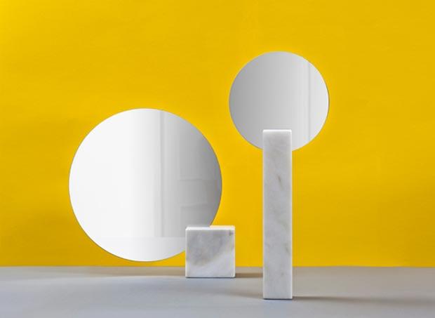 minimalist Pi mirrors Kai Linke
