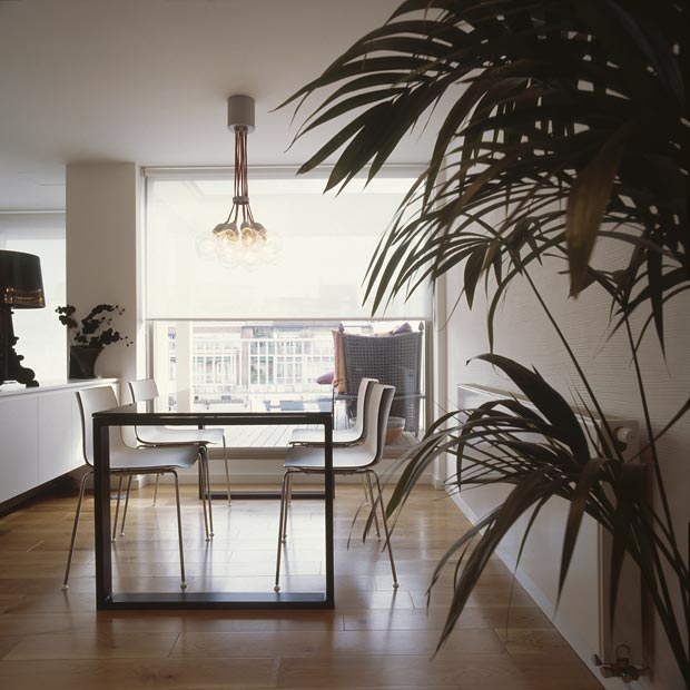 Modern Apartments Barcelona: Modern Interior Design: Barcelona Top Floor Duplex By