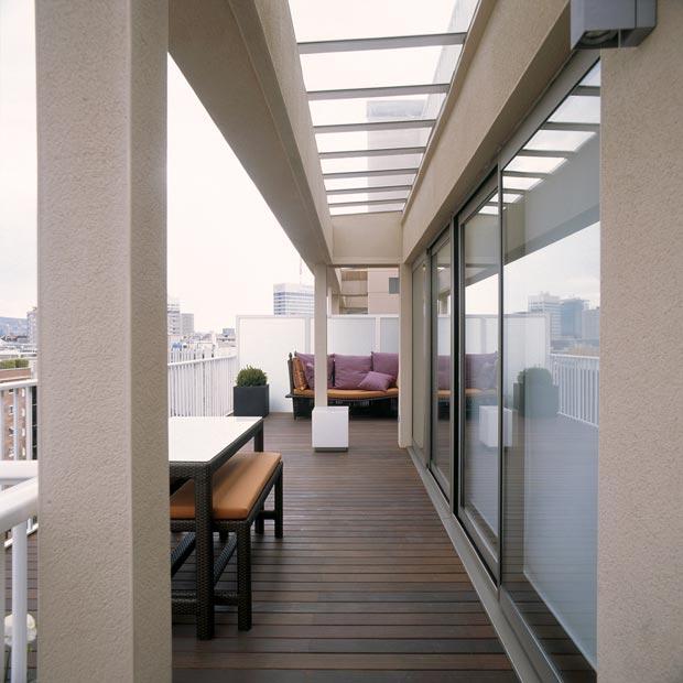 Modern Apartment Susanna Cots Barcelona duplex terrace