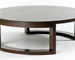 Nature Inspired Furniture: Round Coffee Table By SMFD
