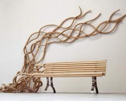 Pablo Reinoso's Spaghetti Benches