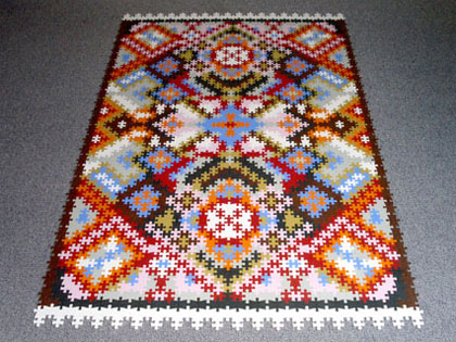 Puzzle Persian Rug Katrin Sonnleitner
