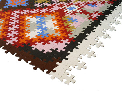Puzzle Persian Rug Katrin Sonnleitner 2